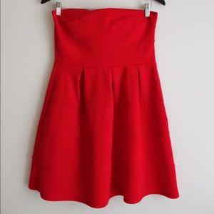 Beautiful Red Strapless Dress!